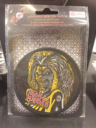 Iron Maiden Patch 10